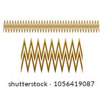 golden  ornamental segment  ... | Shutterstock . vector #1056419087