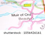 Small photo of Muir of Ord. United Kingdom on a map