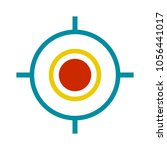 target aim icon | Shutterstock .eps vector #1056441017