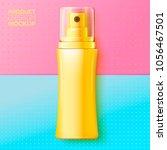 vector 3d realistic cosmetic... | Shutterstock .eps vector #1056467501