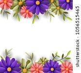vector illustrator spring... | Shutterstock .eps vector #1056515465