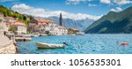 scenic panorama view of the... | Shutterstock . vector #1056535301