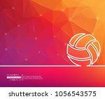 abstract creative concept... | Shutterstock .eps vector #1056543575