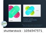 creative minimal design of...   Shutterstock .eps vector #1056547571