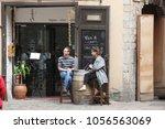 barcelona spain   june 9  at... | Shutterstock . vector #1056563069