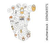 pregnancy vector illustration....