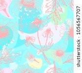 chamomile seamless pattern. | Shutterstock .eps vector #1056567707