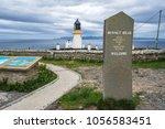 dunnet head lighthouse marks...
