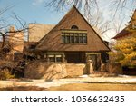 oak park  il  usa march 10 ... | Shutterstock . vector #1056632435