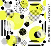 abstract seamless pattern with ... | Shutterstock .eps vector #1056643937
