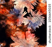 imprints japanese... | Shutterstock . vector #1056645035