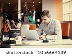 startup business  software... | Shutterstock . vector #1056664139