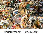 barcelona   may 14  typical... | Shutterstock . vector #105668501