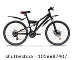 bicycle vector realistic... | Shutterstock .eps vector #1056687407