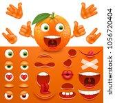 emoji  smiley creator from... | Shutterstock .eps vector #1056720404