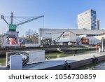 rotterdam  the netherlands  ... | Shutterstock . vector #1056730859