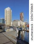 rotterdam  the netherlands  ... | Shutterstock . vector #1056730865