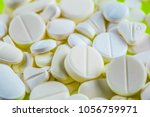 colorful pills medicine  ... | Shutterstock . vector #1056759971