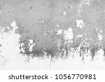 the old white  grey grunge... | Shutterstock . vector #1056770981