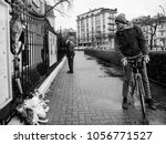 strasbourg  france   mar 28 ... | Shutterstock . vector #1056771527