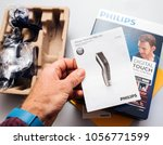paris  france   feb 14  2018 ...   Shutterstock . vector #1056771599