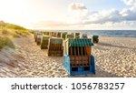 zinnowitz  beach  germany  | Shutterstock . vector #1056783257