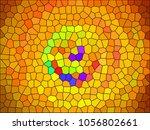abstract illustration  ... | Shutterstock . vector #1056802661
