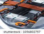 electric car lithium battery... | Shutterstock . vector #1056802757
