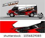 modern vehicle graphic kit....   Shutterstock .eps vector #1056829085