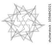 geometric patterns etudes... | Shutterstock .eps vector #1056842021