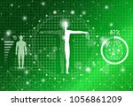 abstract background technology... | Shutterstock .eps vector #1056861209