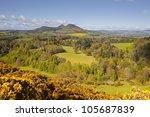 Scott's View In The Scottish...