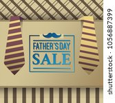 father's day sale illustration | Shutterstock .eps vector #1056887399