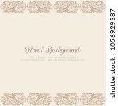 abstract stylish luxury...   Shutterstock .eps vector #1056929387