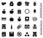 flat vector icon set   double... | Shutterstock .eps vector #1056944144