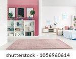 modern  open space apartment... | Shutterstock . vector #1056960614