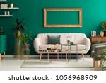 metal  round coffee tables and... | Shutterstock . vector #1056968909