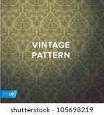 damask vintage floral... | Shutterstock .eps vector #105698219