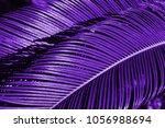 creative ultraviolet tropical... | Shutterstock . vector #1056988694