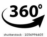 360 degree view. 360 degree...   Shutterstock .eps vector #1056996605