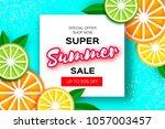 lemon  lime  orange. citrus...   Shutterstock .eps vector #1057003457