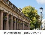 royal pump rooms leamington spa ...   Shutterstock . vector #1057049747