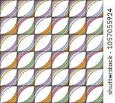 abstract seamless stripe... | Shutterstock . vector #1057055924
