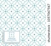 blue  green and white geometric ... | Shutterstock .eps vector #1057067567