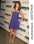taryn southern  at cosmopolitan'... | Shutterstock . vector #105707939