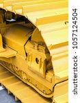 tractor or excavator tracks....   Shutterstock . vector #1057124504