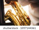 selective soft focus.hands... | Shutterstock . vector #1057144361