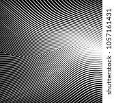 abstract warped diagonal... | Shutterstock .eps vector #1057161431