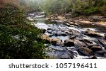 river flowing at sweetwater... | Shutterstock . vector #1057196411