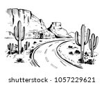 Sketch Of The Desert Of Americ...